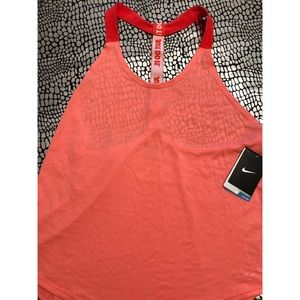 NWT Nike just do it racer back tank
